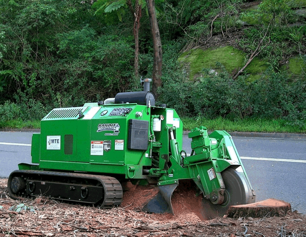 Large stump removal in Melbourne